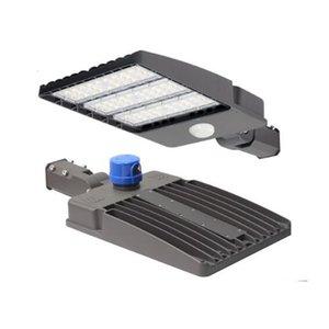 Shoebox Street Light Operated Motion Sensor 100W 150W 200W 300W AC90-277V 130LM W 5 Years Warranty Waterproof Photoswitch LED Lamp Outdoor