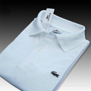 Mens Designer Polos Marken-Hemden Fashion Tees Tops Breath lose Shorts Ärmel Crocodile Stickerei Luxus Tops T-Shirt