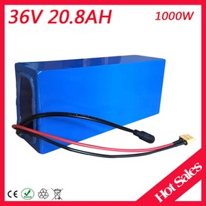 Batteria 36V 20AH batteria al litio 36V 20AH batteria elettrica Batteria 36 V 20AH 1000W batteria al litio con caricabatterie 30A BMS 42V 2A