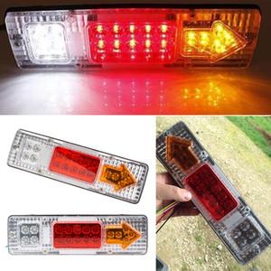 2Pcs Trailer / Truck 19 LED Lampada posteriore, 12V Ultra Bright LED Truck Light, 1.5W LED rimorchio / accessori camion