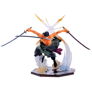 One Piece Action Figure Anime periferico Zoro Nautical King Figurine Decoration Action figure in scatola Purgatory Ghost Zoro Toy