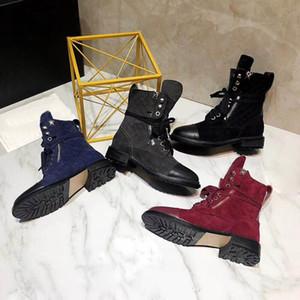 Горячая роскошь фирменных полный кожаные женские сапоги дизайнерский стиль высокое качество мода женские короткие сапоги Женская обувь Бесплатная доставка EUR 35-41