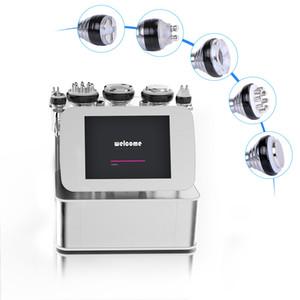 6 en 1 cavitación vacío RF ultrasónica adelgaza la máquina para bajar de peso Equipo reductor de tratamiento de la celulitis grasa Spa Uso