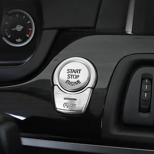 BMW F şasi arabalar Aksesuar Araç stil F10 F20 F21 F30 F34 F07 F52 F25 F26 F15 F16 E70 E71 G30 G38 MOTOR START STOP anahtarı düğmesi