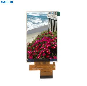 Schermo LCD TFT da 4 pollici con risoluzione 480 * 800 IPS con display interfaccia RGB prodotto dalla manifattura del pannello di amelin di Shenzhen