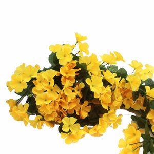 85 centimetri viola Fiore artificiale Bouquet rattan vite Leave Progetto Soft-montato Wall Hanging Pipeline Fiore decorativo