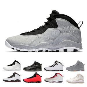 vente en gros 10 10s Cement hommes chaussures de basket-ball Westbrook classe de 2006 blanc noir Cool Steel gris poudre bleu sport baskets EUR 41-47