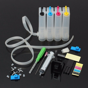 Kits d'encre Ciss pour HP 302 302 XL Encre pour HP Deskjet 2130 1112 3630 3632 Officejet 4650 4652 4655 ENVY 4516 4520 Imprimante Ciss