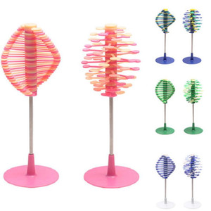 Lecca-lecca Giocattolo antistress da ufficio decompressione Lollipopter Magic Spin Toy Sollievo dallo stress Fibonacci Sequence Creative TOY KKA6013