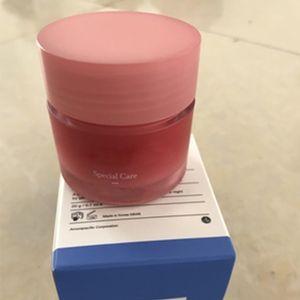 Lanei- ge soins spéciaux à lèvres Masque de sommeil Baume à lèvres Rouge à lèvres hydratant LZ Marque Lip Care cosmétiques 20g