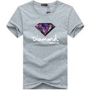 Yeni Yaz Erkek T Shirt Moda Erkek Tasarımcısı T Gömlek Kısa kollu Baskılı Elmas Tedarik Casual Erkek Tees tişört S-5XL Tops
