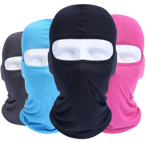 Camouflage Thermal Fleece Balaclava Warm Winter Ciclismo Ski Neck Maschere Cappe Paintball Cappelli Moto Tactical Full Face Mask 15 colori 30pc
