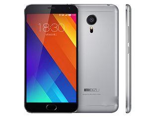Оригинал Meizu MX5 3 ГБ RAM 16 ГБ / 32 ГБ ROM Мобильный телефон Helio X10 Octa Core Android 5.5 дюймов 20.7MP отпечатков пальцев ID 4G LTE сотовый телефон разблокирован