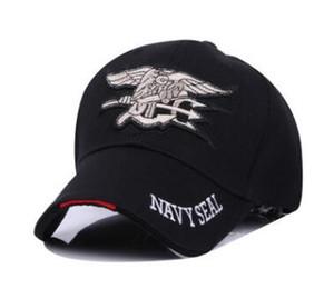 Al por mayor-2018 Nueva Navy Seal Commando Hat Tactical Gorras de béisbol Hombres y mujeres Pareja Sombrero Army Fan City Deportes al aire libre Sombreros