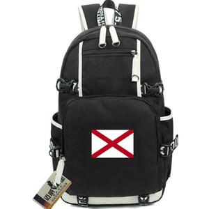 Alabama sırt çantası Dixie Ülke devlet bayrağı daypack Amerika schoolbag ABD laptop sırt çantası Spor okul çantası Açık gün paketi