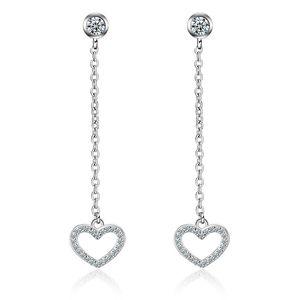 EH163 New Arrival Hollow Dream Catcher Earrings Women's Sliver Plated Dangle Long Earrings Elegant Stylish Ladies Jewelry For Gir