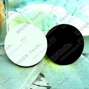 100 шт./лот сублимации пустой DIY холодильник магниты деревянный круглый MDF личный холодильник стикер творческие магниты подарок на День Рождения