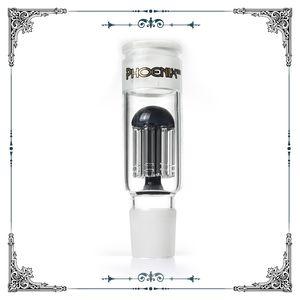 Adattatore vetro Phoenix 8 bracci della caffettiera a filtro collettore della cenere # 34 maschio o femmina dimensioni giunto standard per Bong accessori per il fumo dei tubi in magazzino