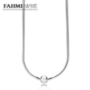 فهمي 100٪ 925 590742HV الفضة لحظات قلادة ملونة البهية النساء المجوهرات هدية الأصلي