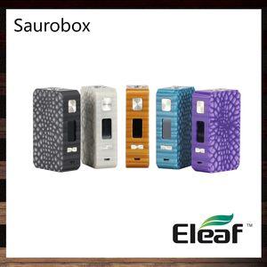 Eleaf Saurobox Box Mod 220W TC Nuevo material de resina con pantalla TFT a color de 0,96 pulgadas, distintivo y lujoso, con un aspecto 100% original