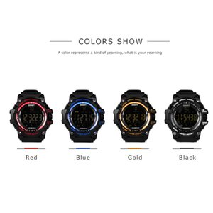 Для дистанционного управления Smart Watch Sports IP67 Водонепроницаемая наручные часы Bluetooth Fitness Technology Носимый трекер работает Ex16 Android камера PCLQD
