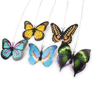 Pet Cat игрушки электрический вращающийся красочные бабочки и птицы смешные Pet царапинам перо игрушка для кошек котенок интерактивный