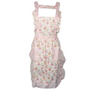 Yeni Nitelikli Kadınlar Ev Mutfak Pişirme Önlüğü Çiçek Tarzı Cep Dantel Önlük Elbise Levert Dropship dig6107