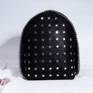 십대 소녀 블랙 가죽 여성 가방 어깨 가방 지갑 Y881 성급 무료 선박에 대한 작은 여성 배낭 여성 학교 가방