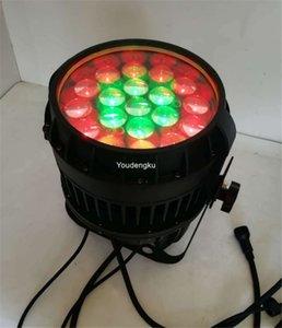 التحكم الفردي 19x10w rgbw مقاوم للماء LED ZOOM Par Stage Light IP 65 LED PAR Light LED PAR Outdoor