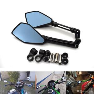 Для мотоцикла с ЧПУ зеркала заднего вида заднего вида боковые зеркала для Дукати монстр 696 796 600 S4R Хайпермотард Ямаха Р6 и YZF-R6 в и YZF-R6 в