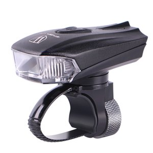 Wheel Up Bicycle Head Bike Intelligent LED Front Lamp USB Rechargeable Cycling Warning Sécurité Lampe de Poche Capteur de Lumière Y1892809