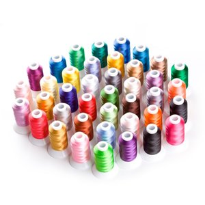 40 Brother Colors Polyester Computer Machine Embroidery Thread For Brother Janome etc 550Y*40 / Kit