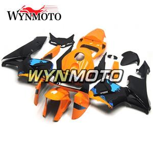 Пластиковые панели для Honda CBR600RR F5 Год 2005 2006 05 06 Полный комплект обтекателя Kit Body Оранжевый Синий Черный