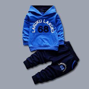 Children Tracksuit Kids Clothing Sets Baby Boys Fashion Sports Suits Hoodies Sweatshirts+Pants Infant Sportwear Kids Suit Costume