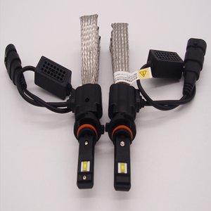 CREE H7 H1 H4 H11 9005 9006 9007 LED phares Ampoules Kit 100W 10000LM Feux de croisement 6000K White9005 9006 9007 H1 H4 H7 H11 80W 8000LM CREE