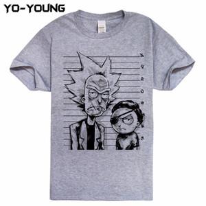 Оптово-новые футболки для мужчин Забавный дизайн Цифровая печать Тройники из 100% хлопка
