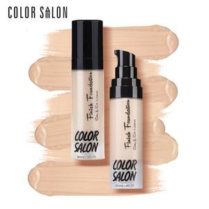 Color Salon Face Concealer Cream Full Cover Makeup Liquid Corrector Foundation Base Make Up For Eye Dark Circles Facial Cosmetic