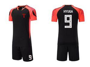 Captain Tsubasa Toho Academy Kojiro Hyuga cosplay ensembles maillot de football