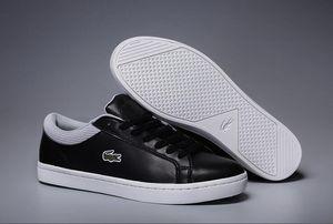 Neue Designer Low Top Alle Rote Leder Crocodile Stickerei herren Freizeitschuhe männer Mode Schwarz Weiß Sneakers für Herren Keine Box