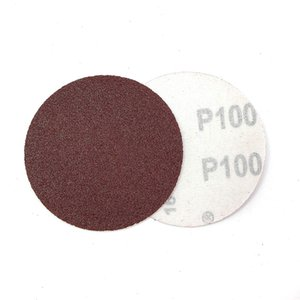 Freeshipping 새로운 도착 100Pcs / lot 3inch (75mm) 샌더 디스크 믹스 세트 Sanding Polishing Pad Sandpaper 내구성과 실용성