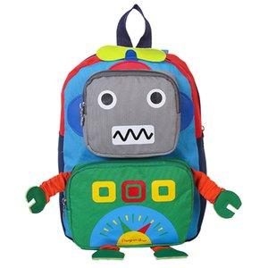 2018 Çocuklar Sırt Çantası Sevimli Robot Okul Çantaları Erkek Kız Satchel Sırt Çantası Çocuklar Için Dayanıklı Okul Çantası İlköğretim Okulu
