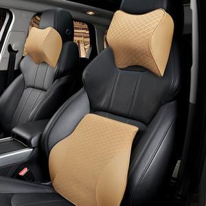 HZYEYO mousse à mémoire de voiture Oreiller Neck Rest Coussin taille Support Voiture massage Coussin Pillow Retour Accessoires Supports de voiture, T-2087