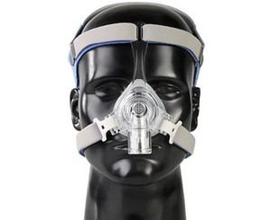 CPAP maskeleri uyku apnesi Boru çapı 22 mm için CPAP makineleri için Headgear'lardan ile maskelemek nazal burun maskesi uyku apnesi CPAP
