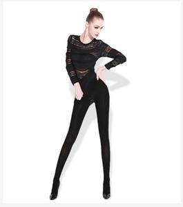 플러스 사이즈 Ropa 인테리어 Termica 겨울 가을 여성 두꺼운 열 속옷 여자 속옷 Feminina 여자 열전달 겨울 팬티 스타킹