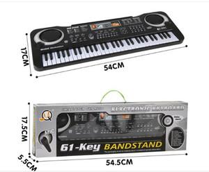 1pc / Multifonction 61 touches Musique Clavier électronique Early Education avec Mikephone Kid Piano Orgue Record Playback avec pack de détail