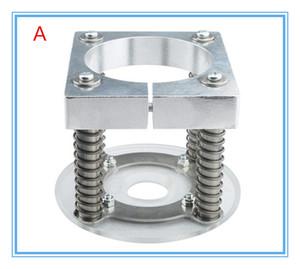 CNC Router pression automatique Support pied Fixture plaque PVC broche de serrage pour le cuir coupe 65mm / 80 / 85/90 / 100/105 / 125mm