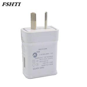 100 шт. / лот 2A AU Plug USB переменного тока стены дома зарядное устройство адаптер питания для Samsung Galaxy S5 / 6 край для Apple iphone Австралия адаптер