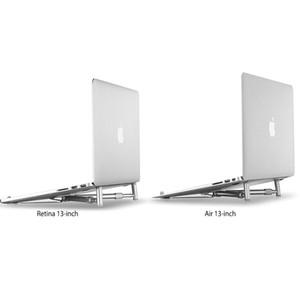 Alüminyum Dizüstü Tutucu Laptop X Standı Katlanır Taşınabilir Dizüstü Standı 11-17 Inç Cihaz için Ayarlanabilir Dağı