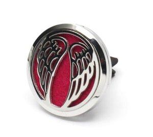 Perfume medalhão difusor do carro clipes de ventilação óleo essencial medalhão aromaterapia difusor de óleo essencial do carro magnético clipe de perfume