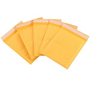 120*180mm Kraft Paper Bubble Envelopes Bags Bubble Mailing Bag Mailers Padded Shipping Envelope Business Supplies free shipping